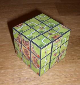 Carcassonne kostka Rubika